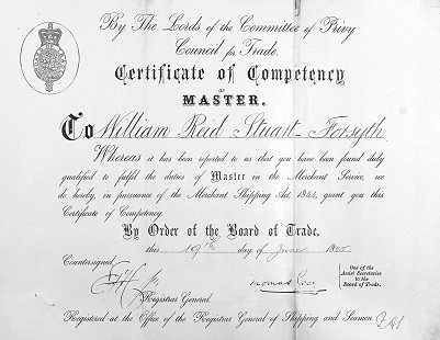 Master's Certificate